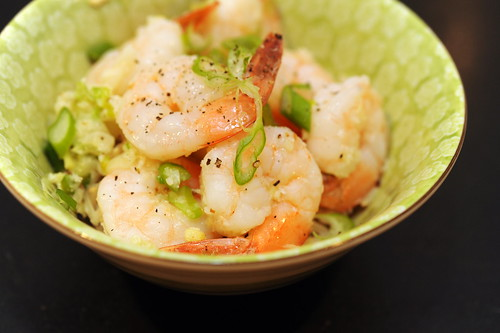 coconut ginger fried shrimp
