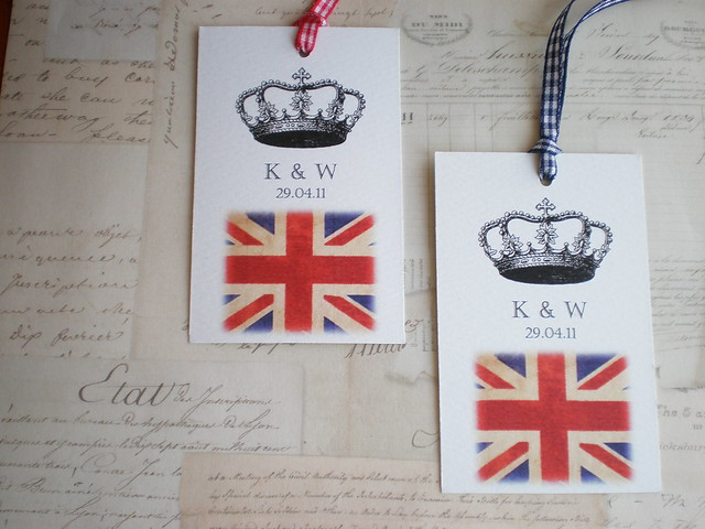 Royal Wedding Gift Tags