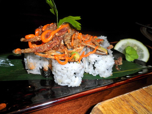 Wagaya Soft Shell Crab Sushi