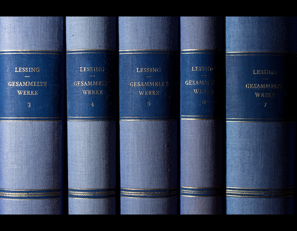 Project 365, Day 259, 259/365, Strobist, books, book, lessing, Gesammelte Werke, Sigma 50mm F1.4 EX DG HSM, 50 mm, 50mm,