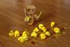 Danbo easter bloodbath (Jody Walmsley) Tags: light easter death blood sabre chicks danbo revoltech danboard