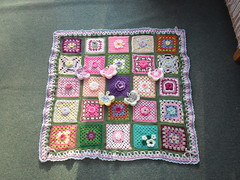 Thanks to everyone that has contributed Squares for this 'Sunshine Blanket'. 'please add note' if you see your Square.