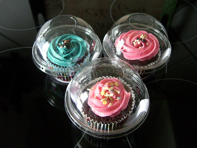 cupcake clear box carrier pods