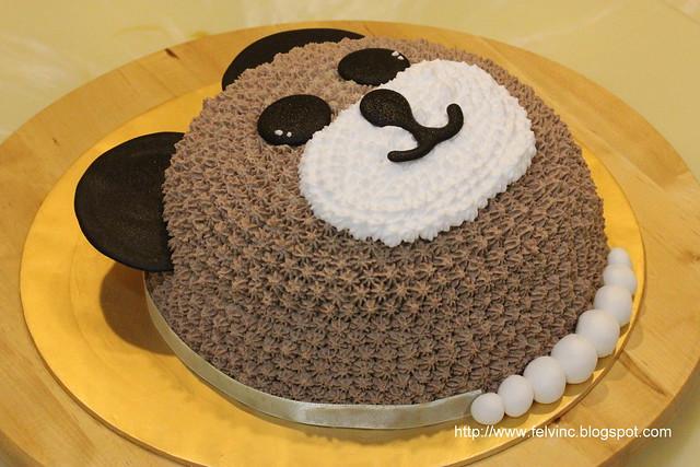 bear cake 小熊蛋糕
