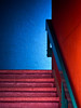 Upward (jaxxon) Tags: blue red macro geometric stairs lens prime nikon stair geometry pad stairwell micro fixed handrail 28 365 mm nikkor f28 vr afs 105mm twocolored twocolor 105mmf28 2011 d90 nikor project365 f28g gvr jaxxon jackcarson multifarious apicaday 105mmf28gvrmicro ayearinpictures nikond90 116365 hpad project365116 nikkor105mmf28gvrmicro 365116 desklickr nikon105mmf28gvrmicro jacksoncarson jacksondcarson ayearinphotographs hpadw project3652011 2011yip 3652011 yip2011 2011ayearinpictures project3651162011 2011365116