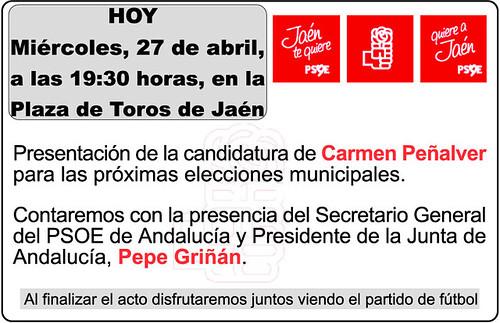 PSOE CANDIDATURA