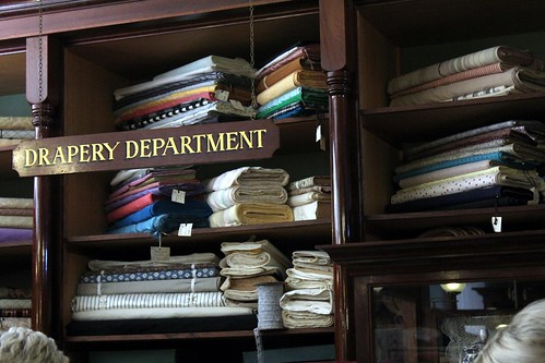 drapery department