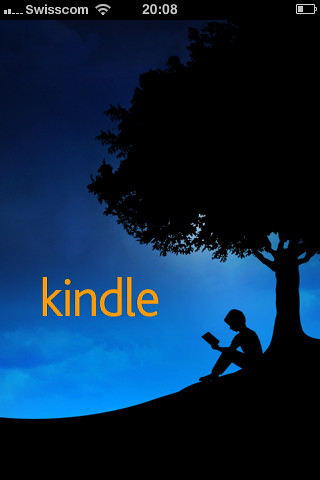 Kindle iPhone App Startscreen