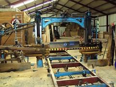 The 1934 sawing machine - still in daily use (Davydutchy) Tags: holland netherlands april friesland sawmill tatra houtzagerij fryslân 2011 langweer trn langwar voorjaarsrit pingjum vogonpoetry tatraregisternederland kieftenburg