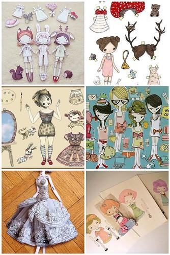 new paper dolls