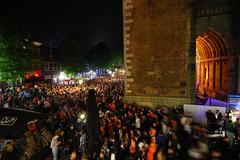Queen's Night (Koninginnenacht) @ Domplein, Utrecht, Holland (Sait Izmit) Tags: birthday party holland netherlands night nikon utrecht day dom queen viewfrommywindow koninginnedag domplein d60 koninginnenacht queensnight