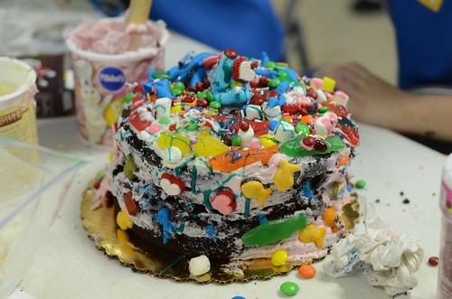 Lauren's team's cake.