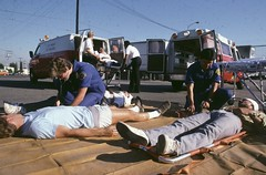 Paramedic Rescue Photo Demo September 1986
