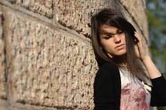 Marica (Niccolò Caranti) Tags: portrait italy girl model italia dof bokeh trento ritratto trentino marica ragazza modella profonditàdicampo dosstrento dsc4060 nikond40x mausoleodicesarebattisti