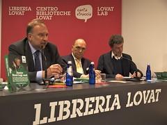 Roberto Cosolini, Sergio Dressi e Michele De Lucia (Marco Gentili) Tags: trieste elezioni bossi radicali leganord