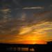 Sunset at Town Lake Bridge, Austin