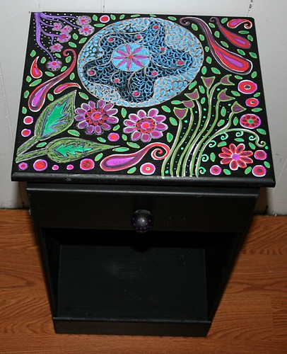 Nightstand by Rick Cheadle Art and Designs