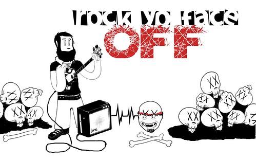rock yo face
