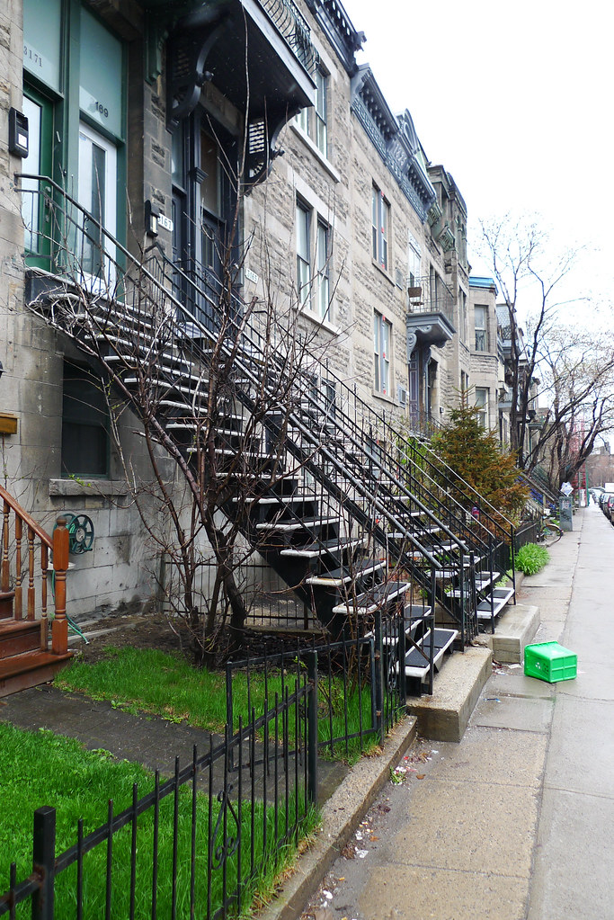 Copyright Photo: Montreal Duplex Typical Stairs 2 by Montreal Photo Daily, on Flickr