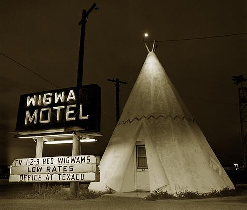 Steve Fitch, Motel Highway 66, Holbrook, Arizon, 1973