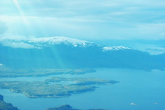 Flying up the Clarence Strait