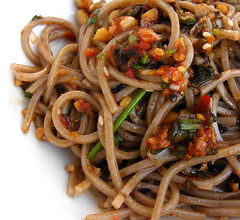 Sesam Leaf Kimchi Tapenade with Soba Noodles (FotoosVanRobin) Tags: korean pesto tapenade sobanoodles  kkaennipkimchi   asianingredients pickledperillaleaves soba aziatischeingredientennl aziatischeingredinten sesameleafkimchi kenipkimchee boekweitnoodles japanesebuckwheatnoodles japanseboekweitnoedels sesambladkimchi gaennipkimchi kaennipkimchi kenpkimchi sesambladkimchee gaennipkimchee kaennipkimchee kkaennipkimchee perillakimchi pickledsesame pickledshiso perillaleafpickles kkaenipjangajji
