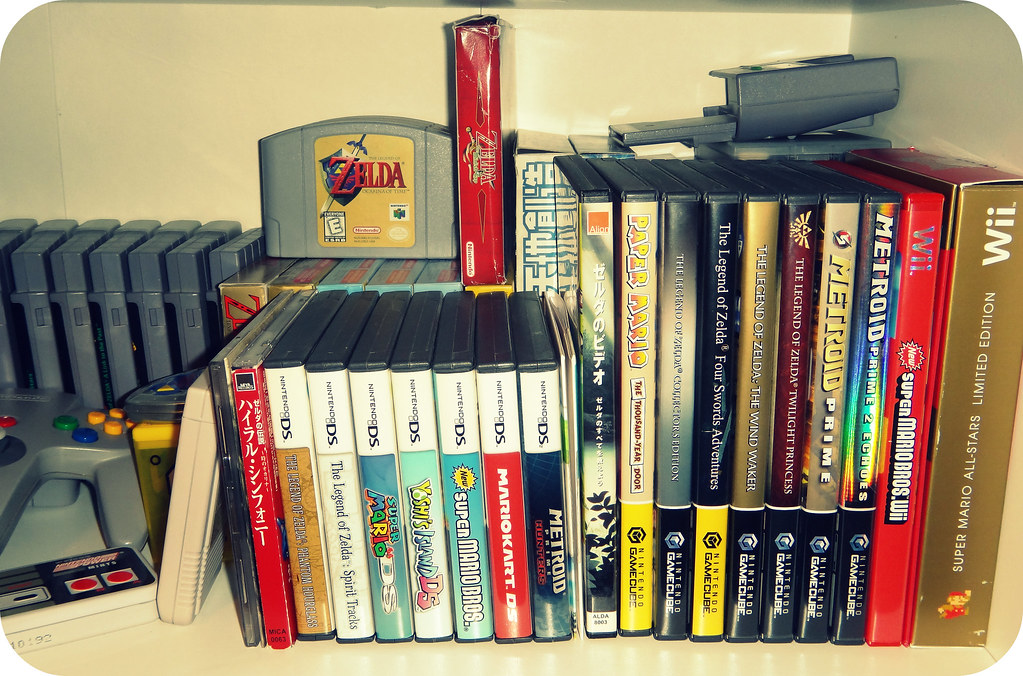 My Nintendo Shelf (Top), 2011