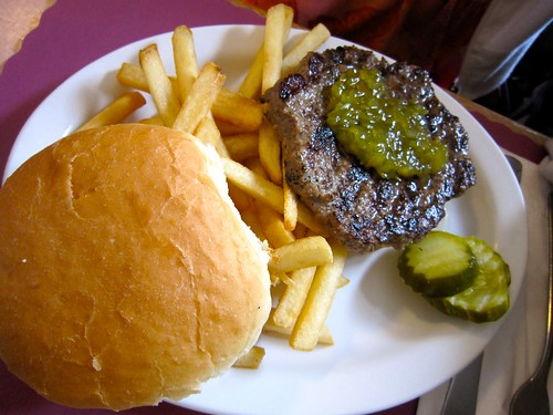 Hamburger with Relish