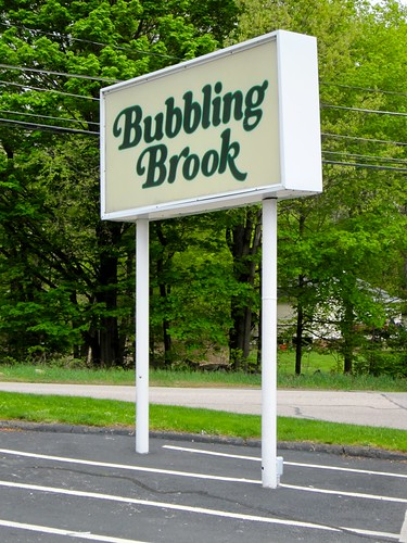 Bubbling Brook Sign