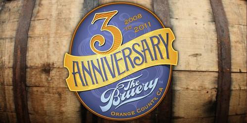 The Bruery 3rd Anniversary