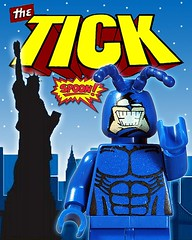 The Tick (Fine Clonier) Tags: lego spoon figure minifig tick custom thetick minifigure kaminoan fineclonier jaredkburks