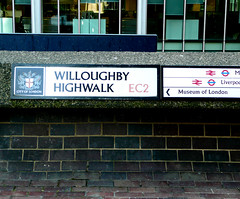 Willoughby Highwalk EC2 (City Of London) (EZTD) Tags: photo foto fotograf photos photographic barbican photographs photograph fotos cityoflondon ec2 photograf fotograaf photographes photographen panasonicdmctz3 willoughbyhighwalk ukroadsign londonstreetnames eztd eztdphotography photograaf londonstreetnameplates fotoseztd eztdphotos leeztd dereztd