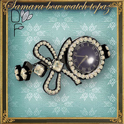 SAMARA Bow watch topaz