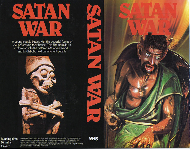 Satan War (VHS Box Art)