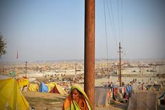 Pilgrim City - Magh Mela (Leonid Plotkin) Tags: india festival asia traditional religion ritual tradition hindu hinduism pilgrim mela sangam pilgrims allahabad pryag maghmela