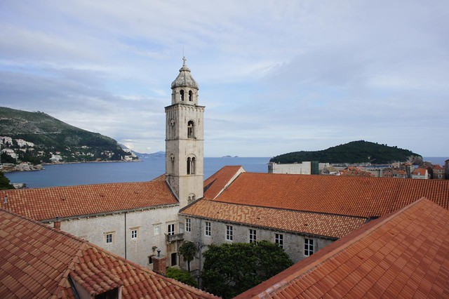 Dubrovnik - Dominican Monastery from walls