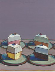 Wayne Thiebaud, Meringue Mix, 1999, sold for $1,058,500 at Christie's May 11-12 2010
