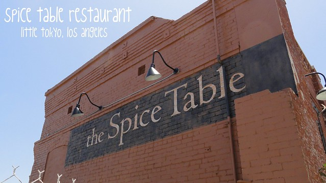 The Spice Table Restaurant, Los Angeles