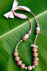 fair trade jewellery (Mzuri beads) Tags: bananaleaf barkcloth cowhorn paperbeads ethicalfashion ribbonnecklace recycledjewelry fairtradejewelry naturalbeads fairtradebeads ugandanbeads ecojewellery ethicalbeads mzuribeads ugandanjewelry kirstiemaclean