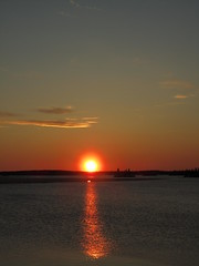 sunset @ 11 p.m.