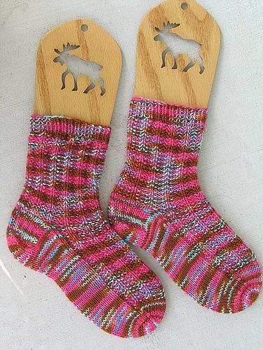 Campfire Fondant Socks