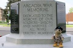 Day 120 - Arcadia War Memorial