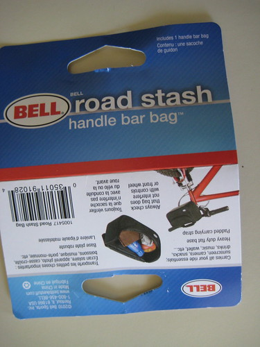 Bell Road Stash handle bar bag