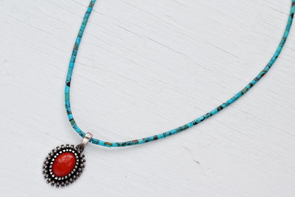 Turquoise-and-Coral