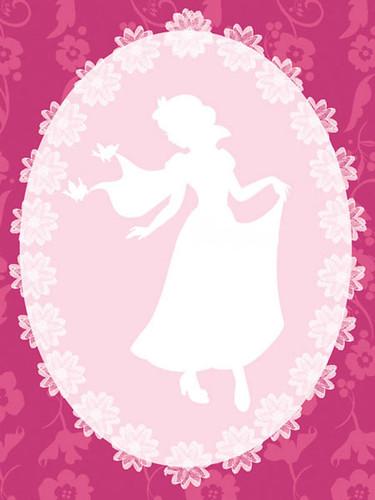 Snow White Cameo Poster (3)