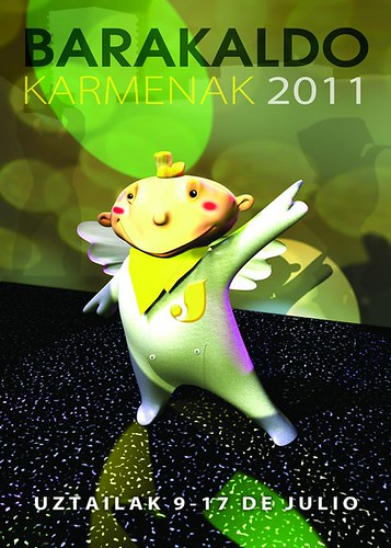 Cartel 7. Concurso Carteles de Fiestas de Barakaldo 2011