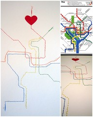 Stitched Metro Map