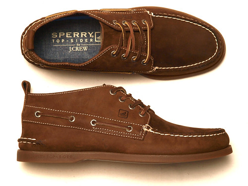 Top Sider for J.Crew / Authentic Original Leather Chukka Boots