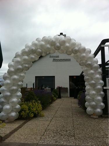 Ballonboog 6m Restaurant Binnenmaas Mijnsheerenland