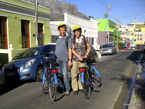 AWOL City cycle tour in Bo-Kaap